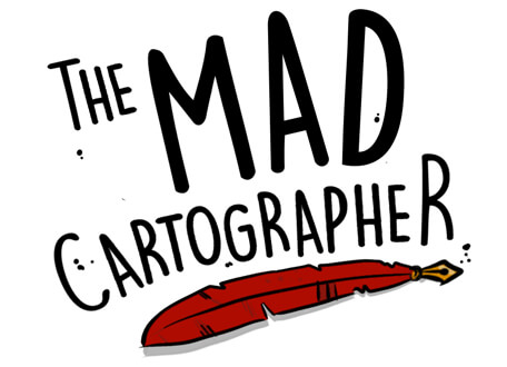 The MAD Cartographer Logo